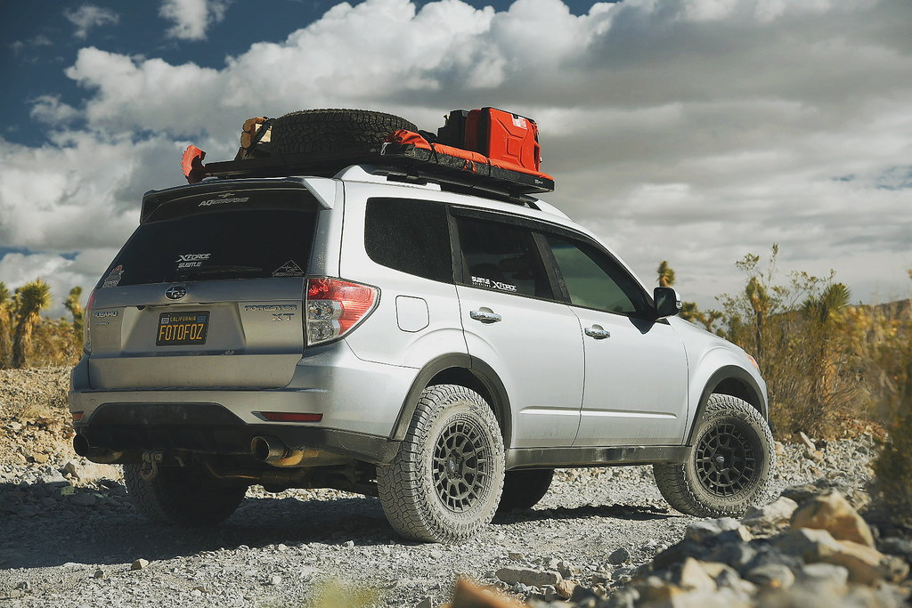 Subaru Forester XT Touring on Black Rhino Boxer 15x7 15 in