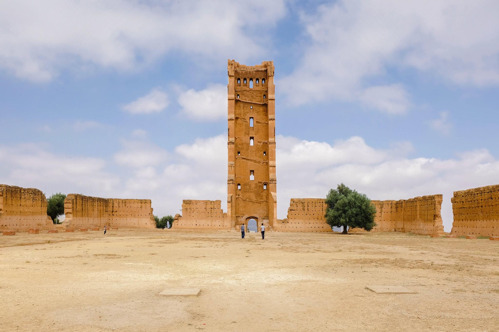 The famous Mansura minaret