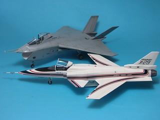 Hasegawa Grumman X-29_finish_10r | by dermot.moriarty