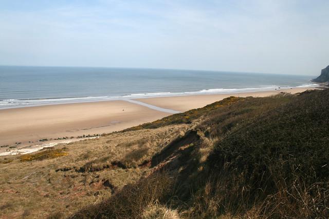 The beach near Flamborough