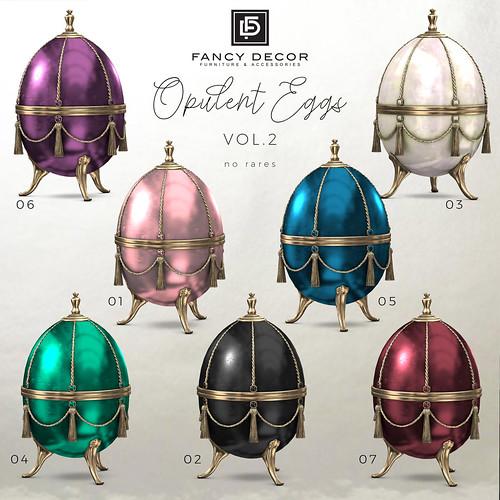 Opulent Eggs vol. 2 | by fancydecorsl