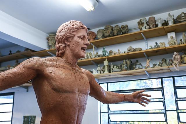 Estátua Renato Portaluppi