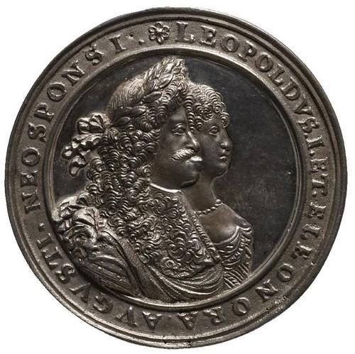 Chronogram Wedding Medal obverse | by Numismatic Bibliomania Society