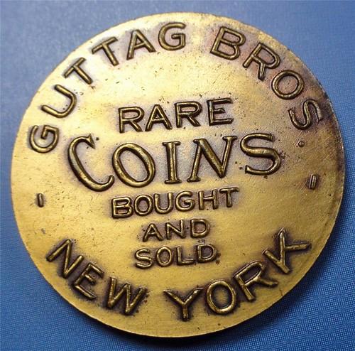 JMS Guttag Coin Week 1923 rev   by Numismatic Bibliomania Society