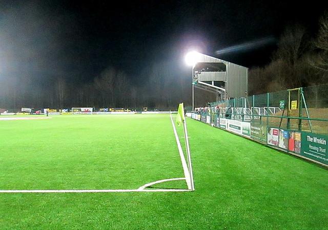 Camer Platform, Park Hall Stadium, Oswestry