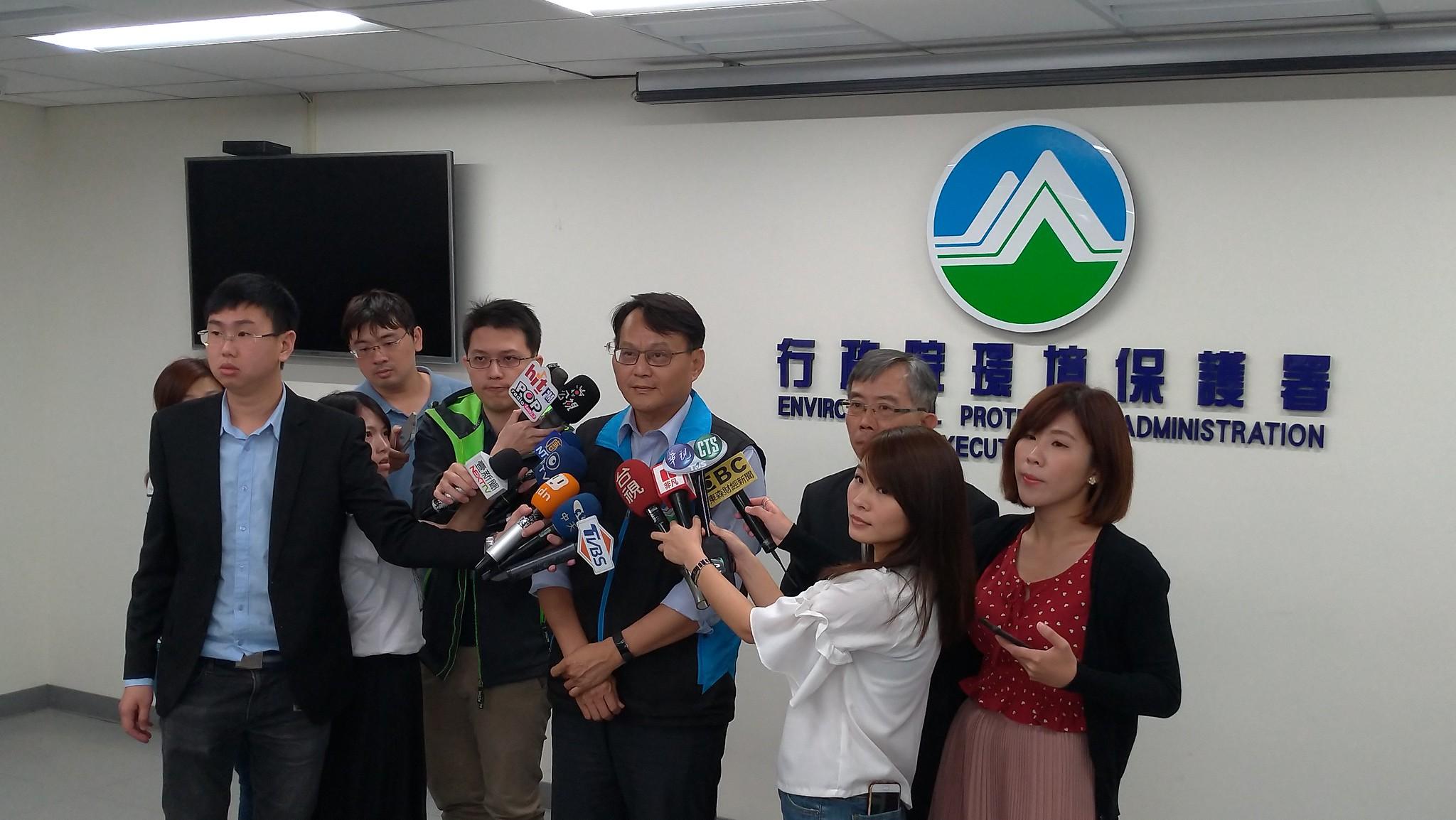 環保署毒物及化學物質局局長謝燕儒表示,事故現場的化學物質都在正常範圍內,列管的毒性化學物質的苯及二氯乙烷皆無洩漏情形。孫文臨攝