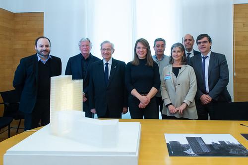 La Cambra de Barcelona i l'Ajuntament compartiran  el nou edifici d'oficines del 22@ | by Press Cambrabcn