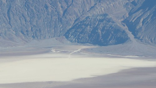 0899 Zoomed-in view of Badwater, 17 miles away down in Death Valley, from the Telescope Peak Trail | by _JFR_