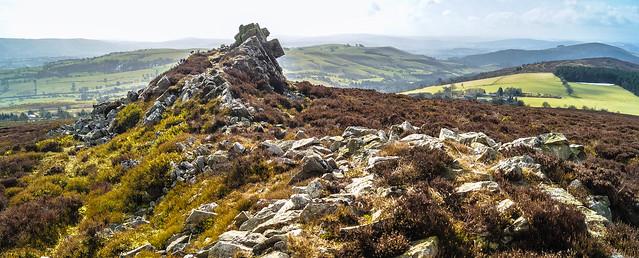 Looking towards Wales