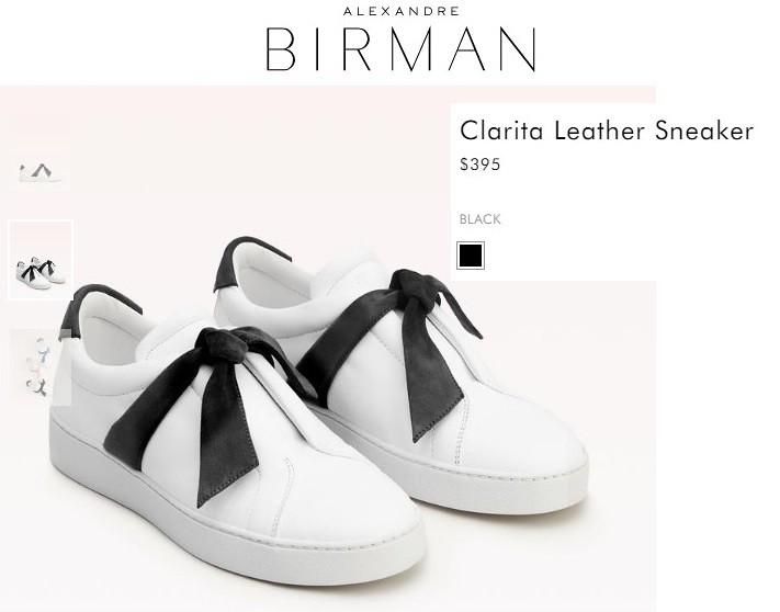 Кроссовки из новой коллекции Alexandre Birman