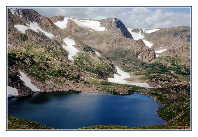 King Lake on Colorado's Rollins Pass - 1971