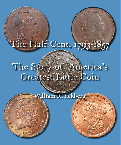 The Half Cent book cover | by Numismatic Bibliomania Society