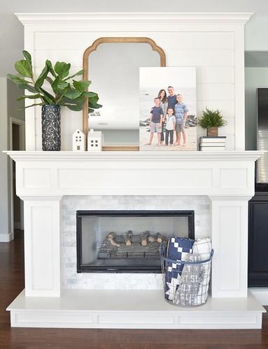 Fireplace/mantel | by croskelley