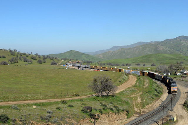 UP 5921 East at Bealville Ca.