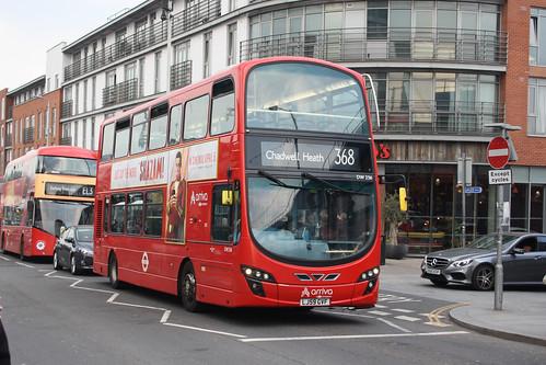 Arriva London DW256 LJ59GVF