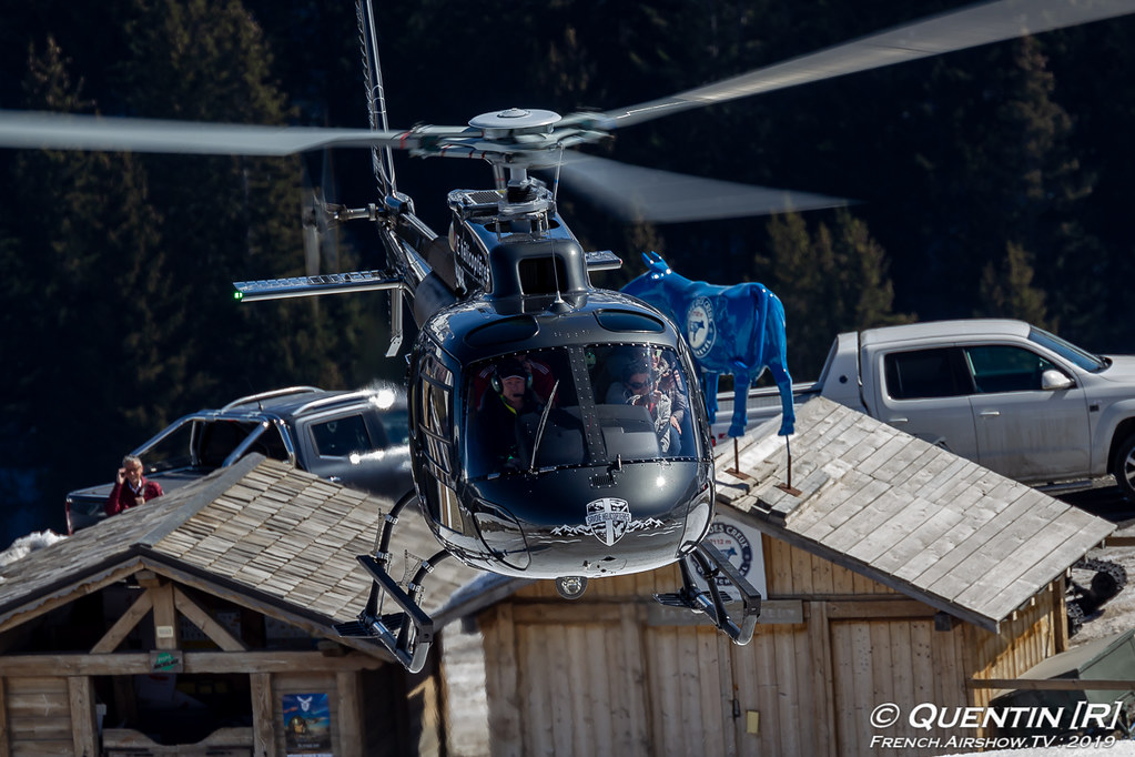 Airbus Helicopters AS350 F-HIRE Savoie Hélicoptères Fly Courchevel Canon Sigma France French Airshow TV photography Airshow Meeting Aerien 2019