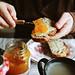 Desayuno y lugares