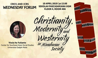 Christianity, Modernity and Westernity in Minahasan Society