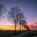 _sunset by l--o-o--kin thru