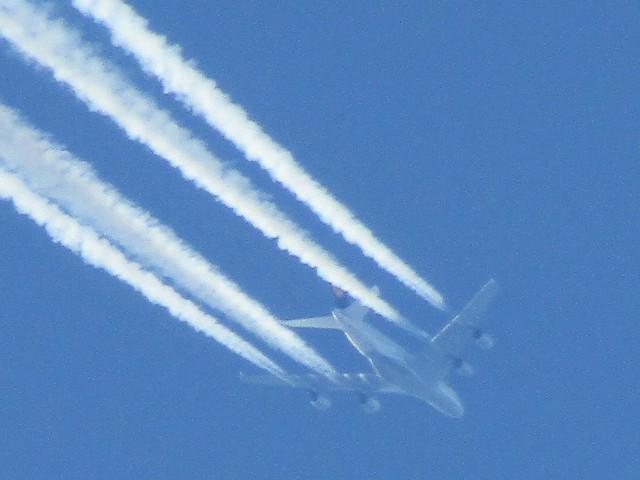Lufthansa 440 Frankfurt To Houston Airbus  A380-841