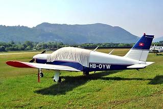 HB-OYW   Piper PA-28R-180 Cherokee Arrow [28R-30100] Lugano~HB 21/07/2004