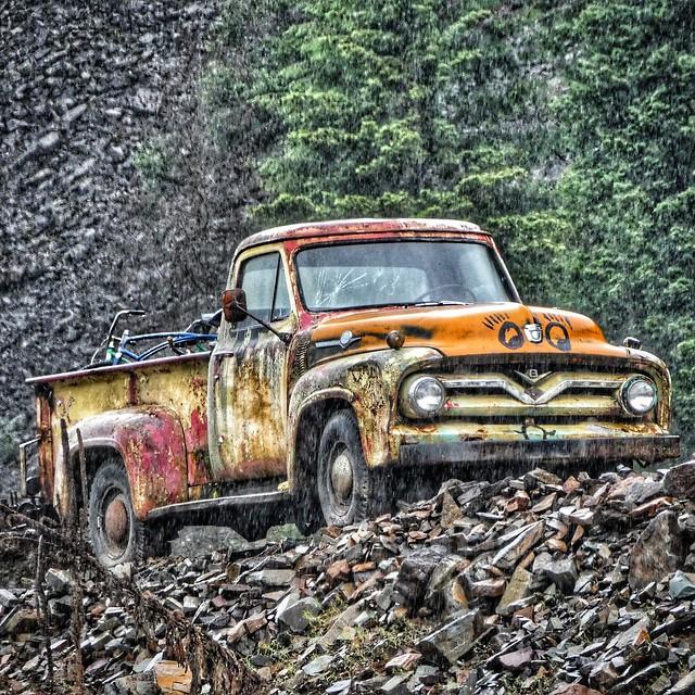 Old pickup, Idaho
