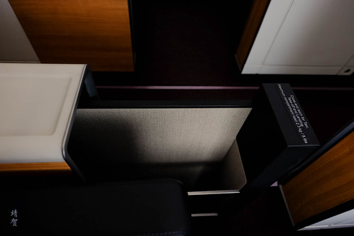 Storage under the armrest | by A. Wee