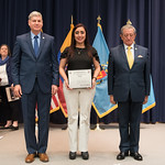 Vi, 03/29/2019 - 14:40 - On Friday, March 29, 2019, the William J. Perry Center for Hemispheric Defense Studies hosted a graduation ceremony for two courses: 'Strategic Implications of Human Rights and Rule of Law' and 'Combating Transnational Threat Networks.' Students from all over the Americas attended the courses from March 18-29, 2019. The graduation ceremony and reception took place in Lincoln Hall at the National Defense University's North Campus at Fort McNair in Washington, DC.
