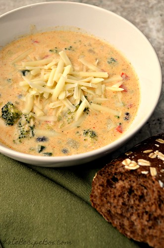 Southwest Broccoli Chowder 2 | by katesrecipebox