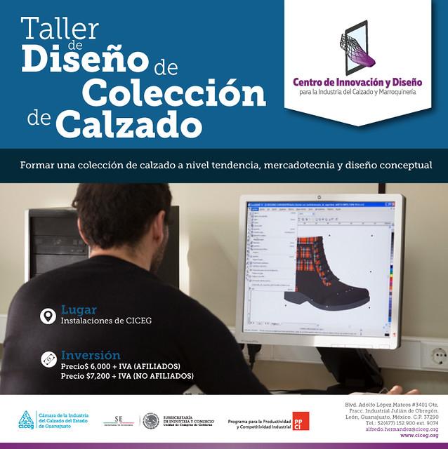 TALLER DE DISEÑO DE COLECCION DE CALZADO