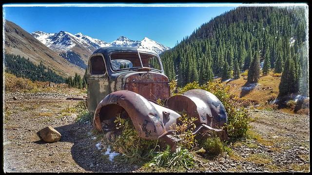 Abandoned truck, Animas Forks, Colorado