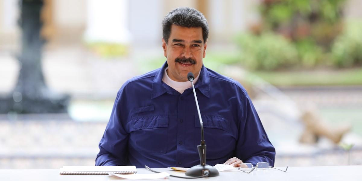 """Presidente Nicolás Maduro """"Venezuela exige respeto del Vicepdte. de los EE.UU, del gobierno imperialista de Donald Trump. Respeto a nuestra historia, a nuestra Constitución y democracia"""""""