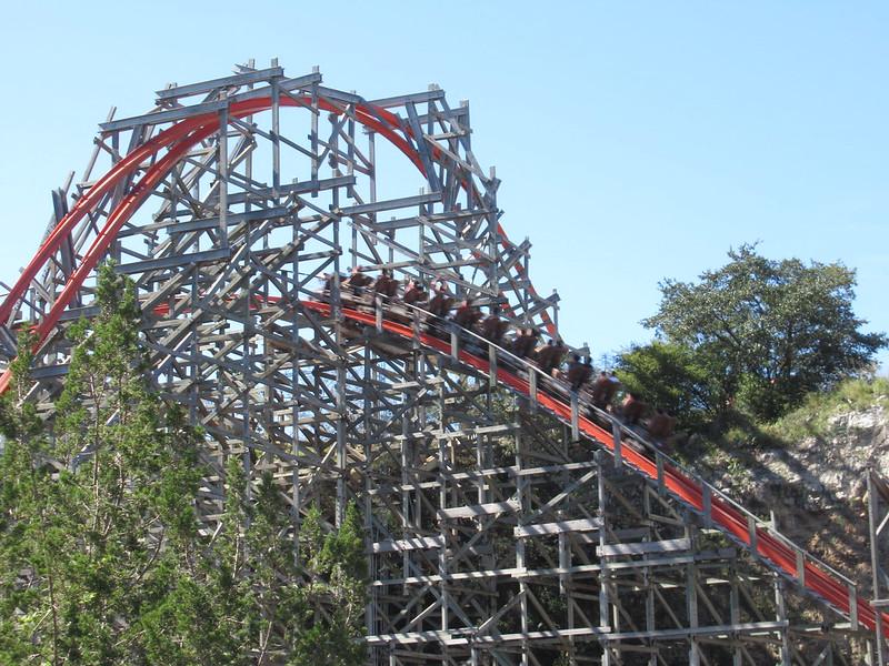 Iron Rattler Six Flags Fiesta Texas