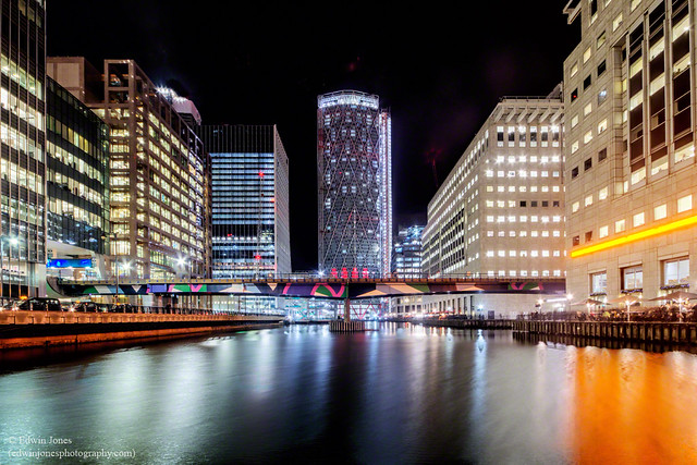 Middle Dock Night View