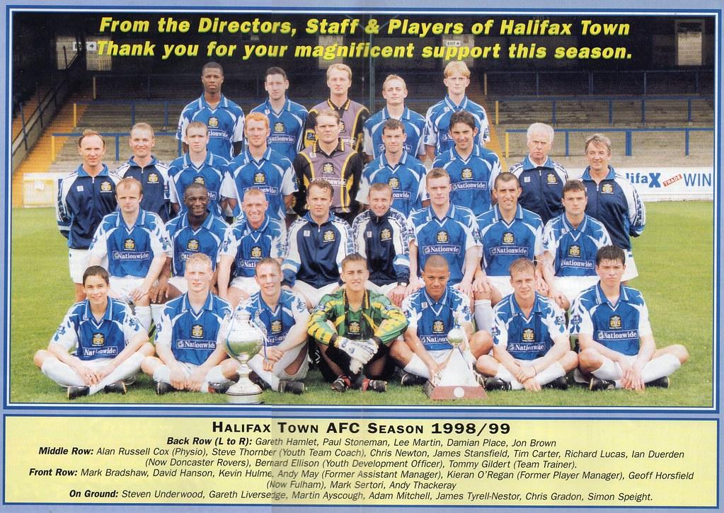 (Programme) 01-05-1999 Halifax Town 1-2 Scarborough 7