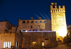 Notte di luce ad Istia d'Ombrone - Night of light at Istia d'Ombrone