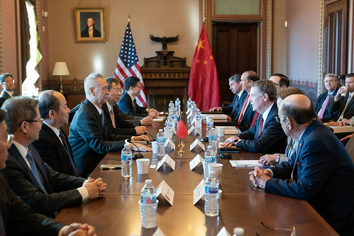 Meeting Between the United States and China on Trade | by The White House