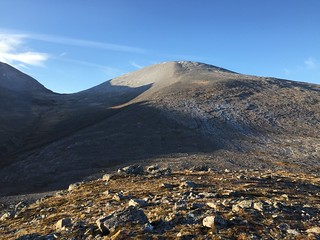 Sgurr Ban from Meallan an Laoigh   by malky_c
