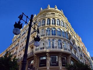 Valencia, downtown art nouveau