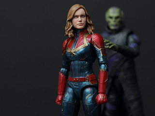 Captain Marvel and Talos | by Hannaford