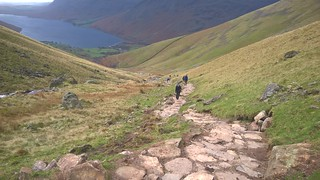 W141 Brown Tongue to Hollowstones   by fixthefells