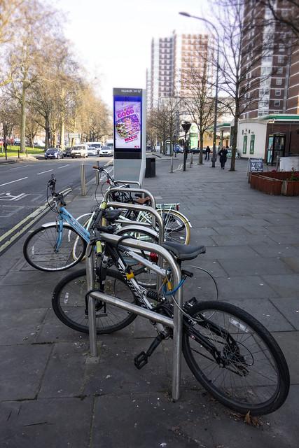 Bicycles, Shepherd's Bush Green