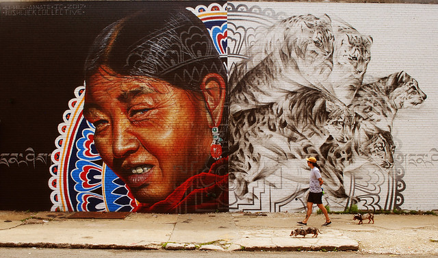Indian & felines (by Bushwick collective)