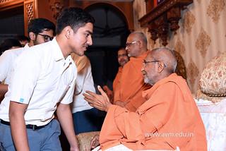 Std-10-11-12-visit-to-Haridham-for-Swamishree's-Blessings-(36) | by Atmiya Vidya Mandir