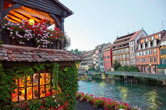 An evening in Strasbourg