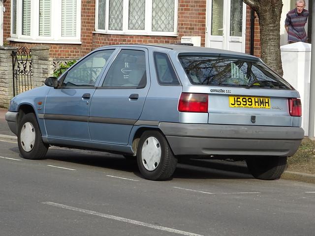 1992 Citroën ZX 1.9D Avantage