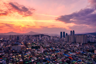 Sunset over Ulsan | by JTeale