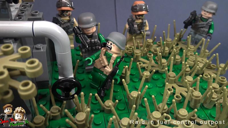 [Great Brick War - Adamson (γιος Adam)] - Raid in Fuel Control Outpost 47447811801_cb4e6ba523_c