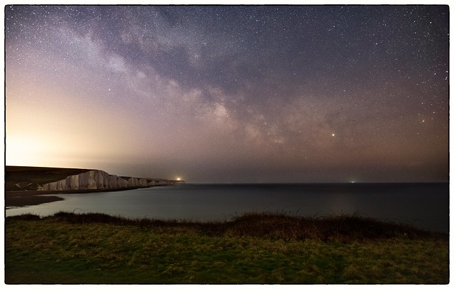 Milky Way over the Seven Sisters