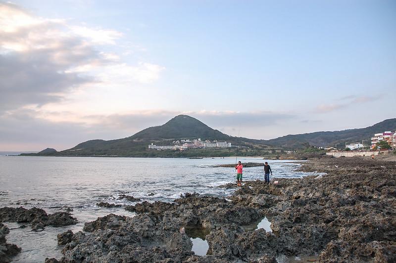 船帆石北望圓山 2